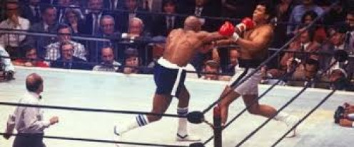 Hard hitting Earnie Shavers gave Muhammad Ali a competitive fight when The Acorn challenged The Greatest for the heavyweight title.