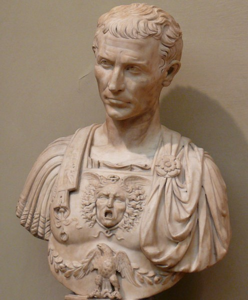 Caesar with Aegis breastplate