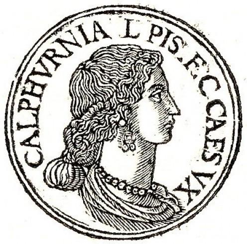 Calpurnia wife of Julius Caesar