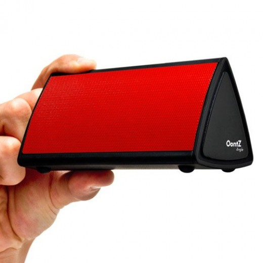 Our pic for the best rated ultraportable bluetooth speaker - The OontZ Angle Bluetooth Enabled Wireless Ultra Portable Speaker(Red)