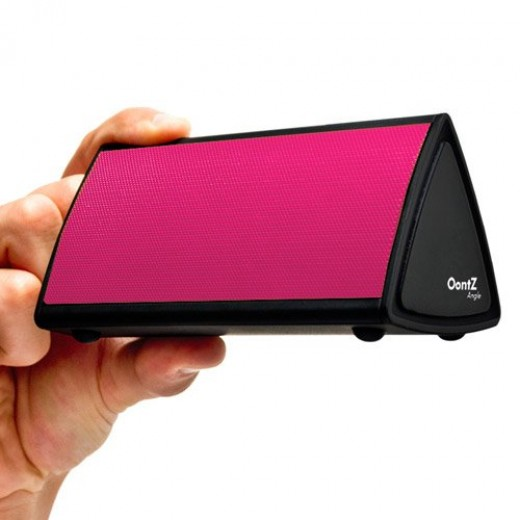 The OontZ Angle Bluetooth Enabled Wireless Ultra Portable Speaker(Pink)