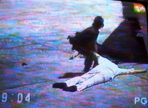 The Actual Image of Ninoy's death