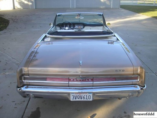 In 1964, if you challenged the GTO, the rear of the GTO is what the challenger usually ended up seeing.
