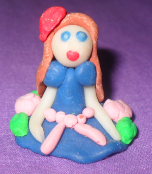 Close Up of Figurine