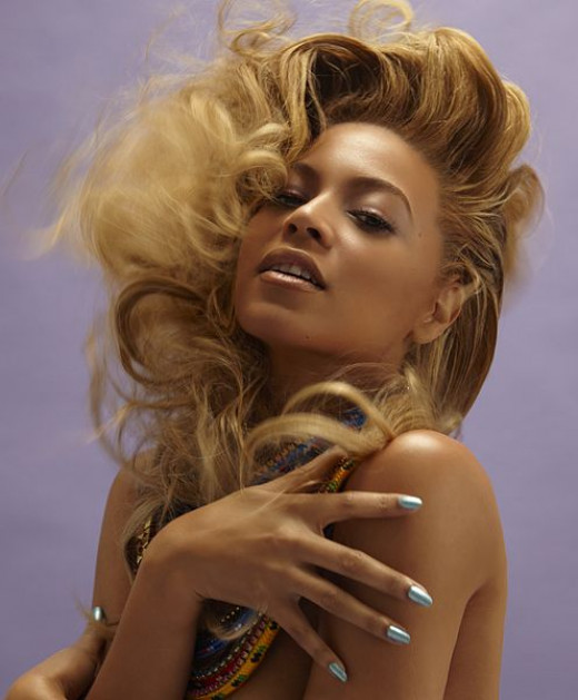 Beyonce Knowles, with the Leo rising hair