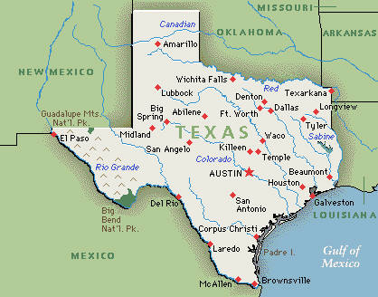Texas is also know as the Lone Star state.