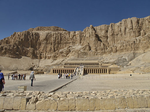 Temple of Hatshepsut in Thebes