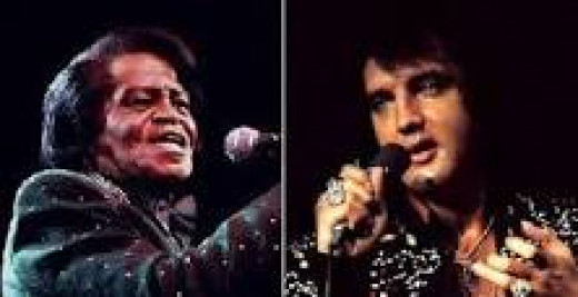 James Brown-Elvis Presley