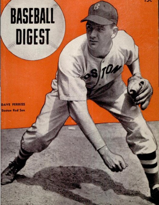 "Dave ""Boo"" Ferriss is one of two remaining members of the 1946 Red Sox."