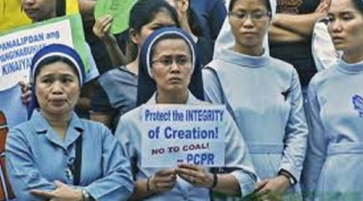 Nuns oppose coal plant in Davao City