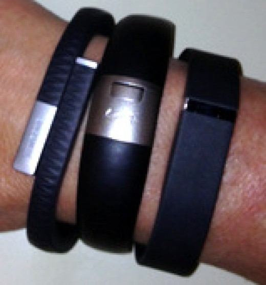 Wristband pedometers
