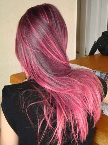 How to dye hair crazy colors bellatory peek a boo solutioingenieria Choice Image