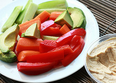 Calories in hummus vary depending on ingredients and brand.