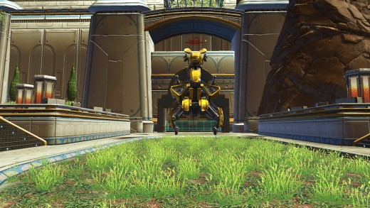 A Level 55 World Operations Boss, Toborro's Golden Fury