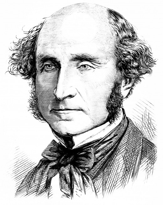 John Stuart Mill, one of THE most influential political philosophers.