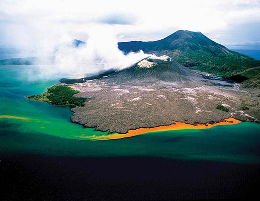 Volcanoes, Papua New Guinea