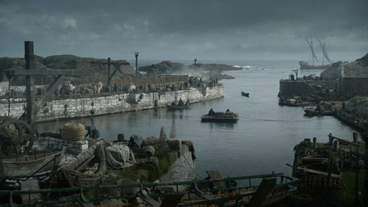 """Game of Thrones"" is filmed on location in Northern Ireland."