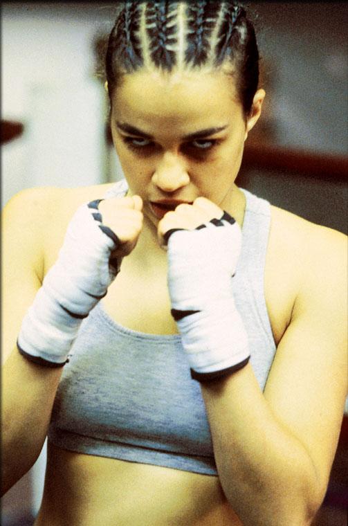 "Michelle Rodriguez in ""Girlfight"""