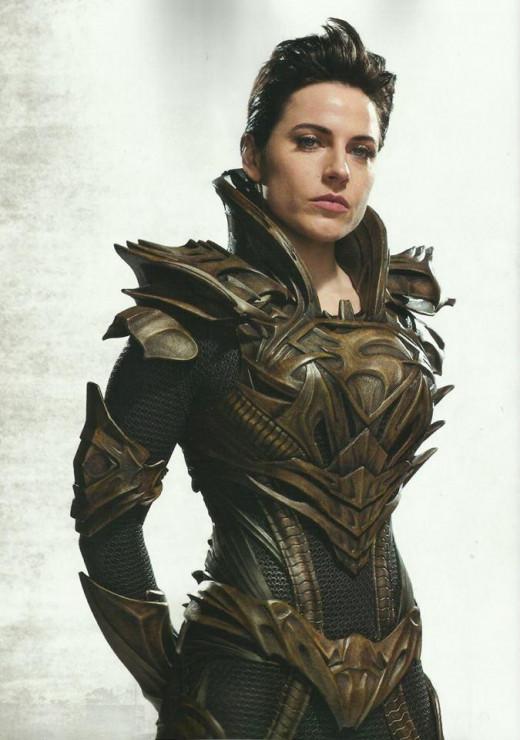 Antje Traue as Faora-Ul in Man of Steel