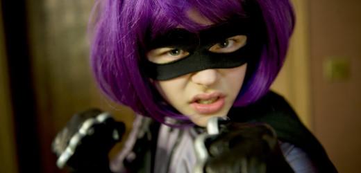 Chloë Grace Moretz as Hit-Girl in Kick-Ass