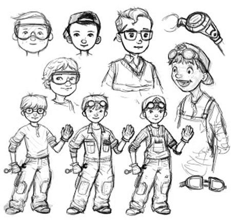 Example Character Development