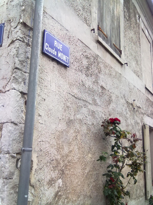 Rue Claude Monet, Giverny, France