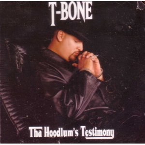 "T-Bone, one of the stars of the film, ""Fighting Temptations"" featuring Cuba Gooding Jr and Beyonce Knowles"
