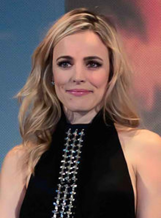 Rachel McAdams at 34 taken in 2012. (Image with CC 3.0 License)