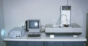 The first-ever 3D printer - thanks Chuck Hull!
