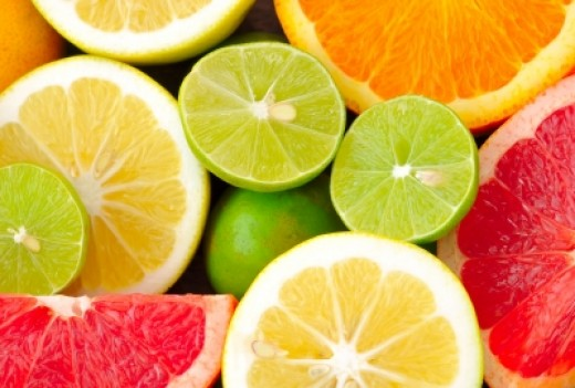 Vitamin C can be found in citrus fruits.