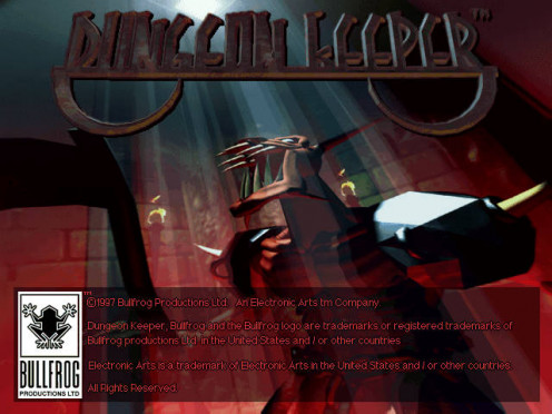 Dungeon Keeper starting up