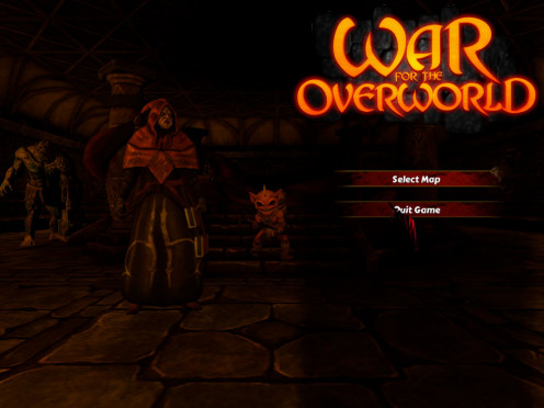 War of the Overworld Menu