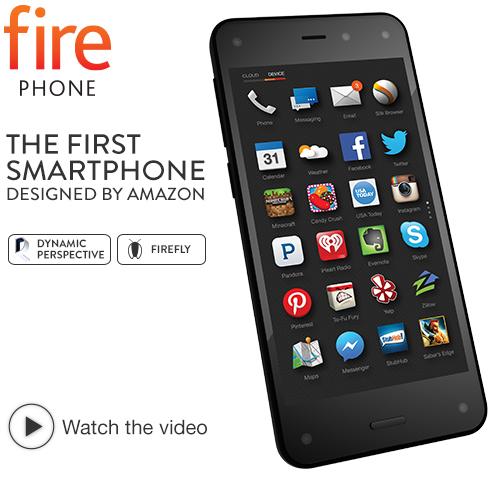 Amazon Fire Phone, 32GB