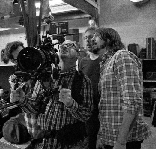 Dave Grohl directing the feature length documentary film Sound City, which covers the human element of music, the lost art of analog recording, and the history of the Los Angeles recording studio Sound City Studios.  GNU Free Documentation License