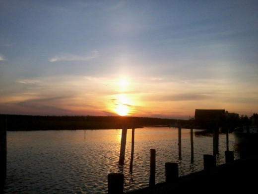June 23, 2014 Sunset over the Bay where I live.Just one more thing to cherish living that life of sobriety.