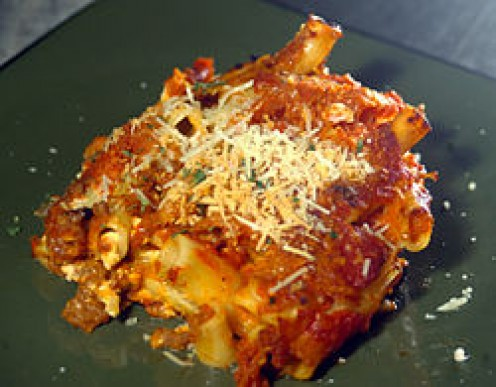 Baked Ziti is so delicious and tasty. It is in fact one of my favorite all time pasta dishes.