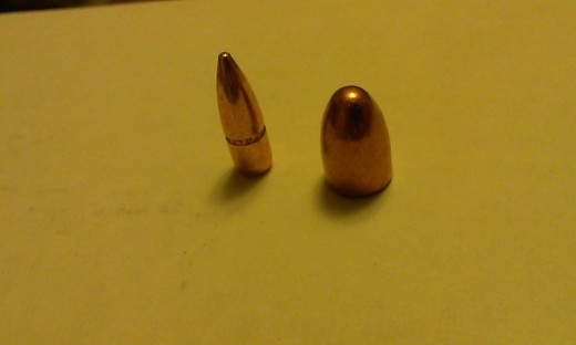 Full Metal Jacketed Bullets (FMJ)
