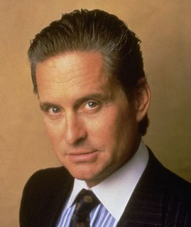 "Gordon Gekko, ""Greed is good."""