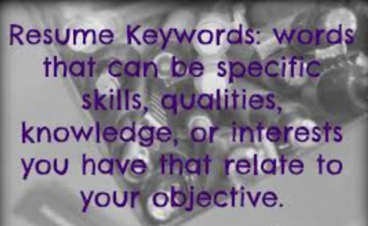 Significance of keywords for resumes