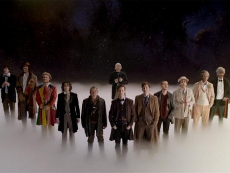 With some television magic, the Doctors are all together.
