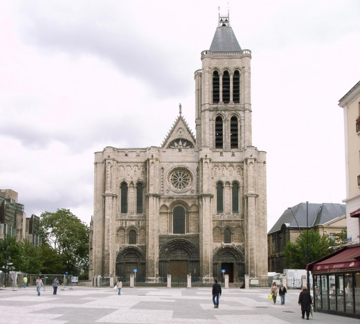 Abelard resided at this cathedral upon becoming a monk.
