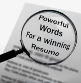 Finding the right keywords to use in a resume