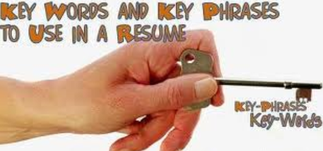 how to use the keywords for resumes