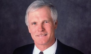 This is a picture of Ted Turner. This webpage says that he is worth $2.2 billion. When this guy does a search for the best book, it means something.