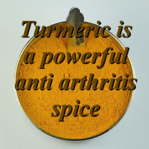 Turmeric is a powerful anti-inflammatory for Arthritis