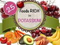 Potassium Rich Foods: Health Benefits and Deficiency Symptoms