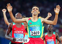 World Record Mile time runner