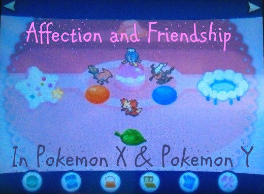 Learn the difference between affection and friendship in Pokemon X and Pokémon Y, how to raise each stat, and why they matter.
