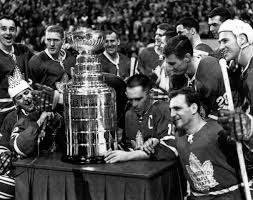 The 1964 Stanley Cup Champions were the Toronto Maple Leafs and the earned their victory.