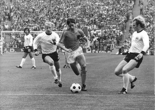 Johan Cruyff: Star of Holland's 1974 World Cup side